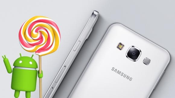 Galaxy E5 için Android 5.1.1 Türkiye'de!