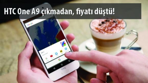 HTC One A9 Fiyatında İndirim!