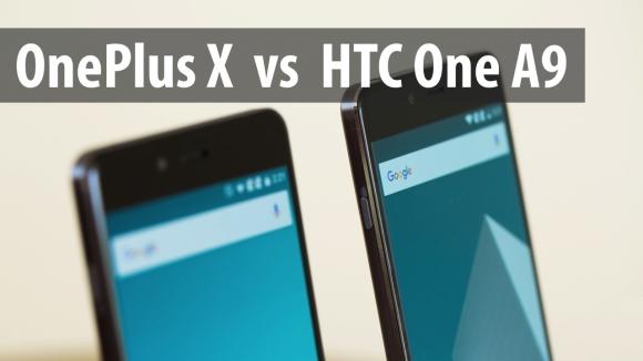 OnePlus X ile HTC One A9 Karşı Karşıya