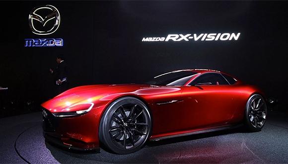 Yeni Mazda RX-Vision!