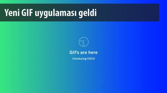 VSCO'nun Yeni Gif Uygulaması DSCO Yayında!