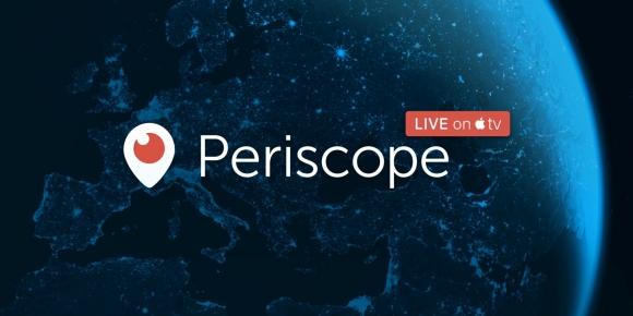 Apple TV için Periscope Çıktı!