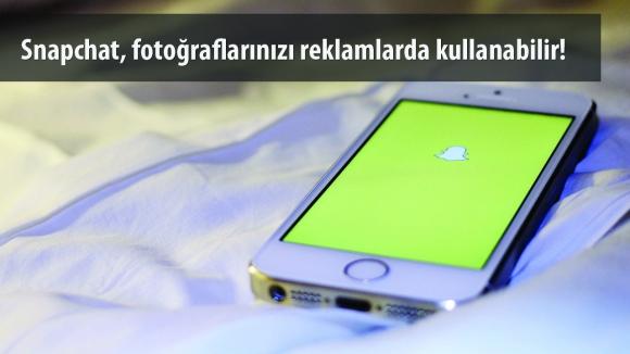Snapchat, Fotoğraflarınızı Kullanabilir!