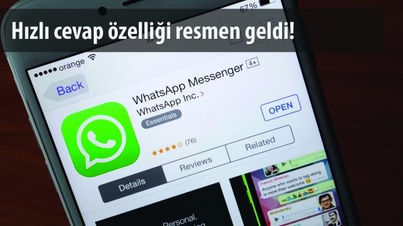 iPhone için WhatsApp Güncellendi!