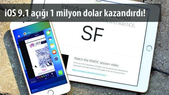 iOS 9 Açığını Buldular Ödülü Kaptılar!