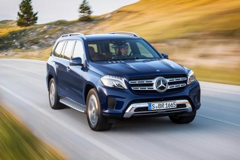 Mercedes-Benz GLS Tanıtıldı!