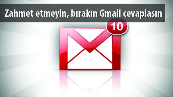 Gmail'den Akıllı Yanıt Özelliği