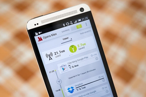 Opera Max Android'e Entegre Oluyor!