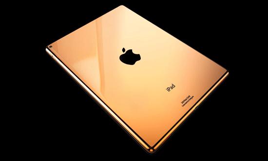 Altın Kaplama iPad Pro Satışa Sunuldu!