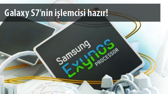 Galaxy S7 için Exynos 8890 Üretimde!