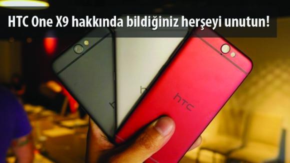 HTC One X9 Üst Düzey Olmayacak!