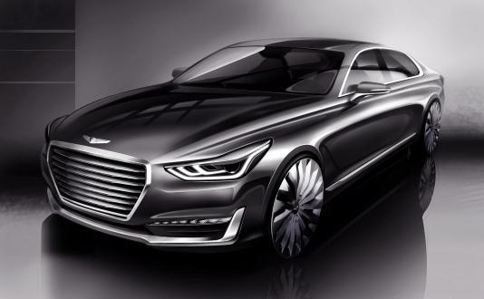 Yeni Hyundai Genesis G90 Görüldü!