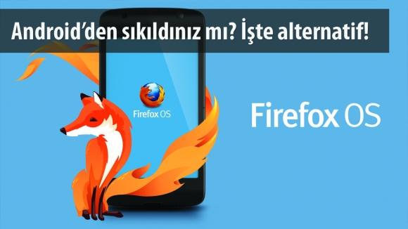 Firefox OS 2.5 Android için Yayınlandı!