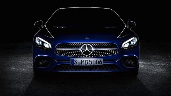 Yeni Mercedes Benz SL Göründü!