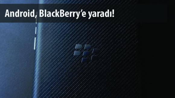 BlackBerry'den Yeni Android Telefon!