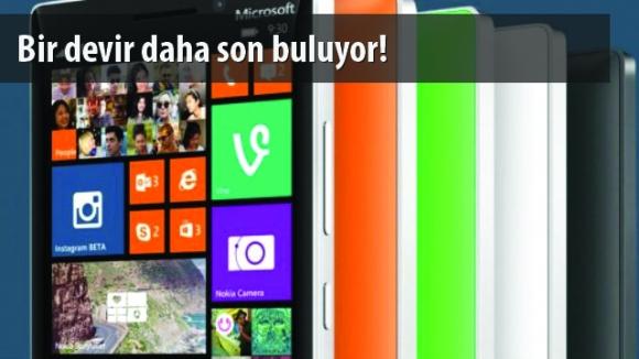 Microsoft 5 İnçlik Telefon Üretmeyecek