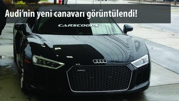 Audi R8 V10 Göründü!