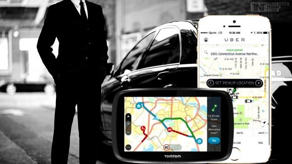 Uber TomTom ile Anlaştı!