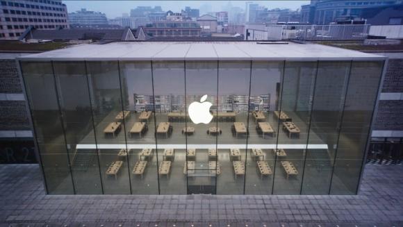 Apple Store Güneş Enerjisiyle Çalışacak!