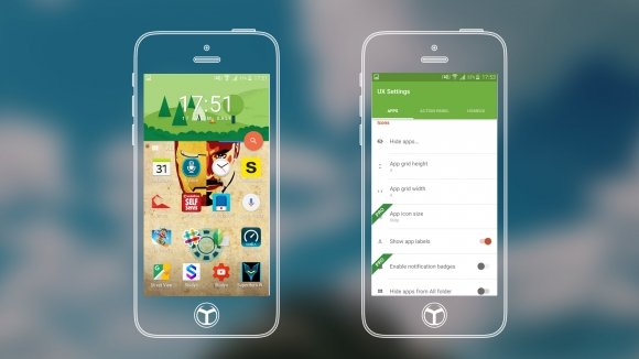 HomeUX Launcher İncelemesi