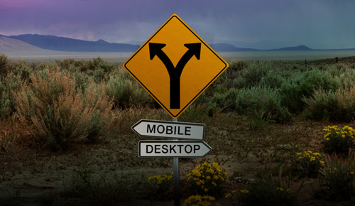 WEB – Mobil Oranı Neredeyse Yarı Yarıya!