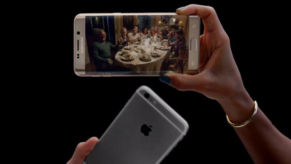 Samsung'dan iPhone'a Gönderme