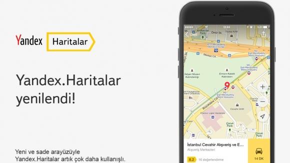 Yandex.Haritalar Artık Daha Kullanışlı!