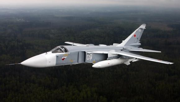 Düşürülen Rus Uçağı SU-24!