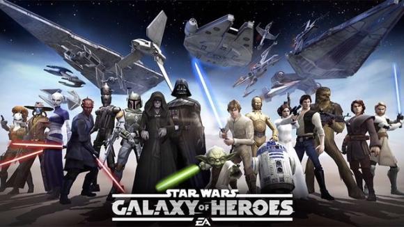 Star Wars Galaxy of Heroes Çıktı!