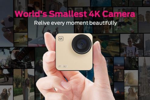 Dünyanın En Küçük 4K Kamerası: Mokacam!