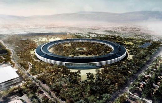 Apple Park inşaatında son durum