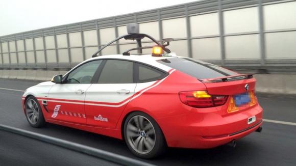 Çinli Baidu, Sürücüsüz Otomobilini Test Etti