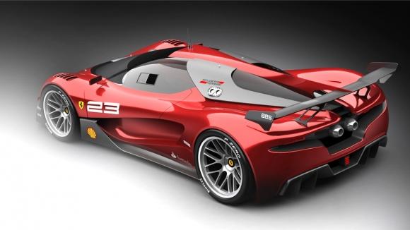 Ferrari 2040 Yılında Nasıl Görünecek?
