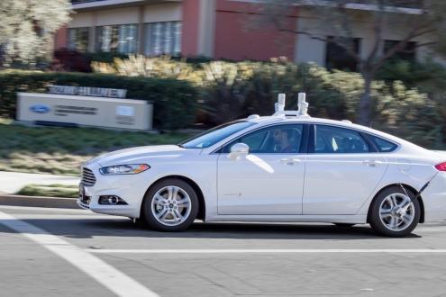 Ford'un Sürücüsüz Arabası Teste Çıkacak
