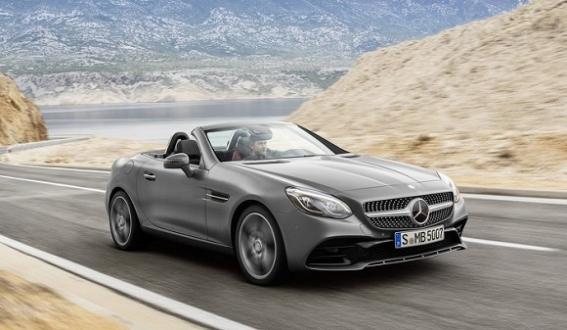 Mercedes, SLK Adını Değiştirdi!