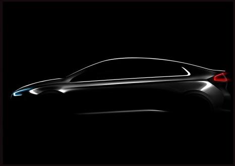 Hyundai Ioniq için Yeni Görseller!