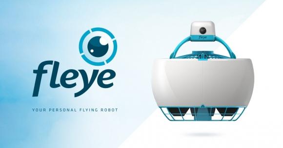 Uçabilen Kişisel Robot: Fleye!