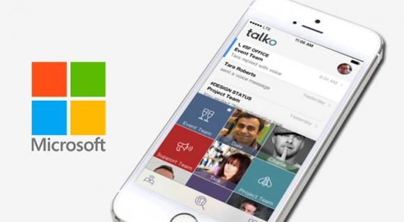 Microsoft, Talko Firmasını Satın Aldı!
