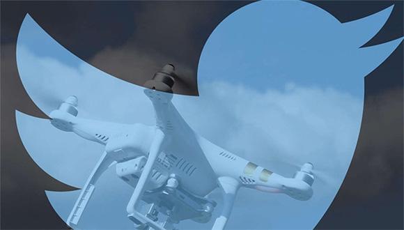 Tweet Atarak Drone Kontrol Edilecek!