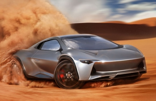 Bugatti Motorlu HyperSUV!