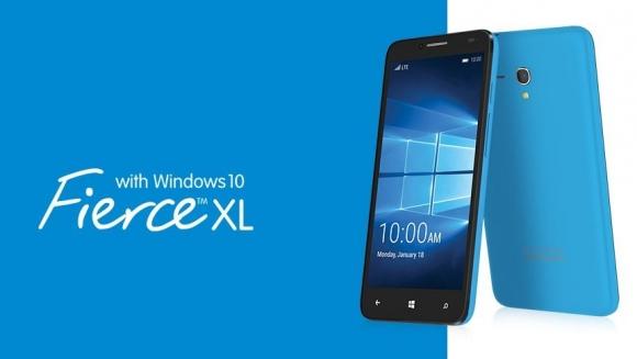 Alcatel Windows 10'lu Telefonunu Duyurudu