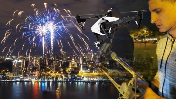 Havai Fişek Yerine Dronelar Kullanılacak
