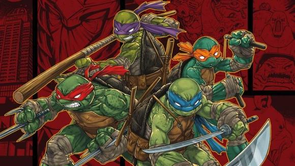 Ninja Kaplumbağalardan Ilk Görseller Shiftdeletenet