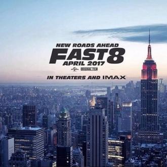 Fast 8'in İlk Afişi Yayınlandı!