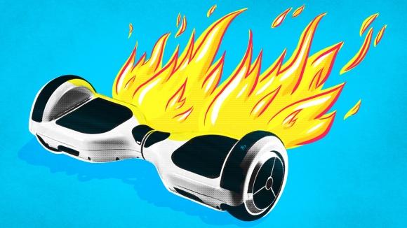Hoverboard Yangın Çıkardı! Ev Yandı!