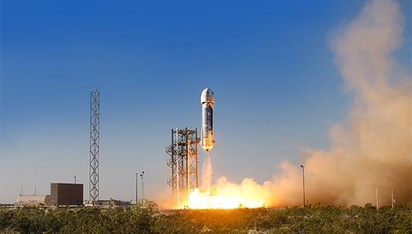 Blue Origin Bir İlki Başardı!