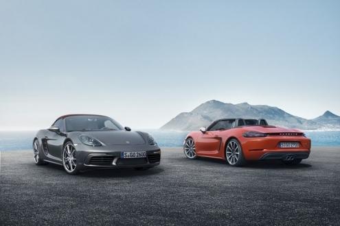 Dört silindirli Porsche 718 Geliyor!