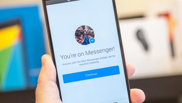 Facebook Messenger, Materyal Dizayna Geçti!