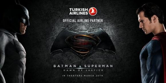THY, Gotham ve Metropolis için Reklam Çekti