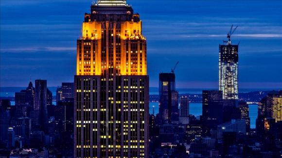 Empire State Binasına Drone Çarptı!